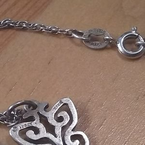 James Avery necklace with Spring Butterfly charm